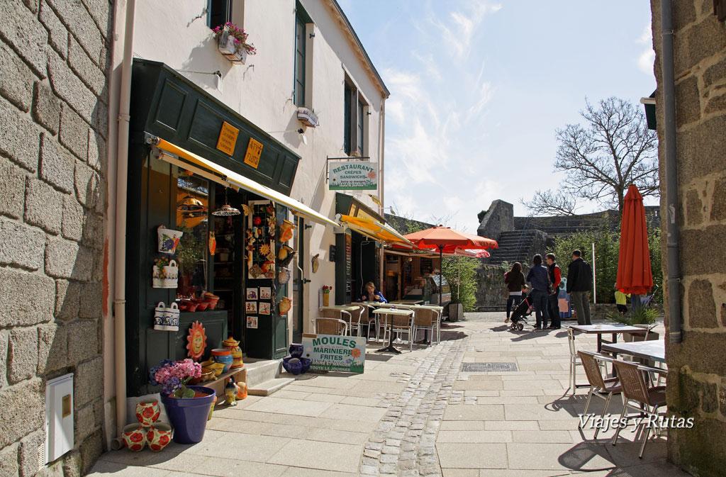 Concarneau y sus calles