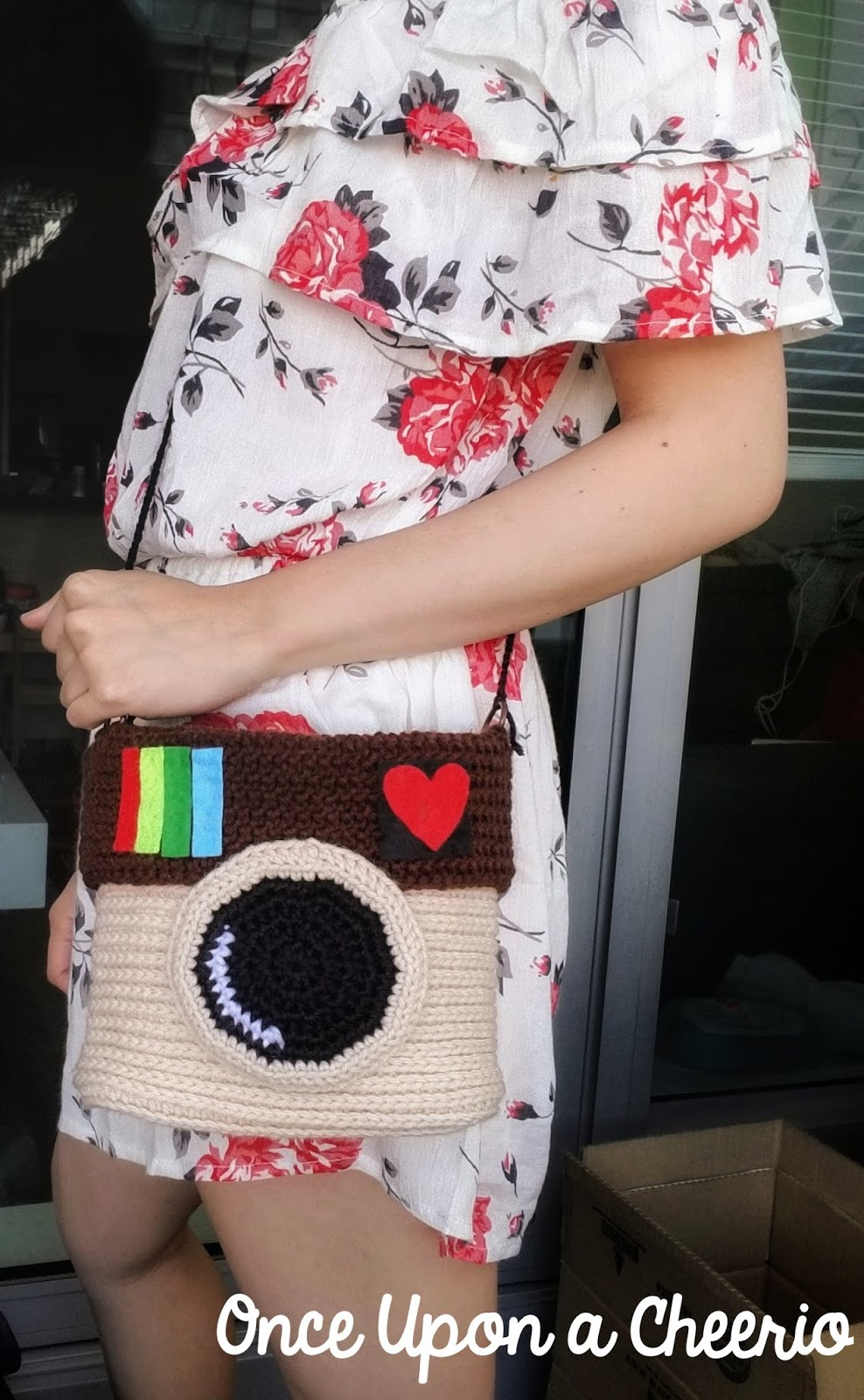 Instagram Purse Free Crochet Pattern