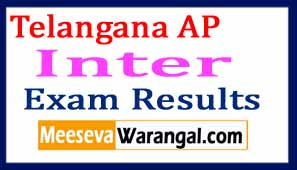 Telangana AP State Inter 1st 2nd Year Results 2017