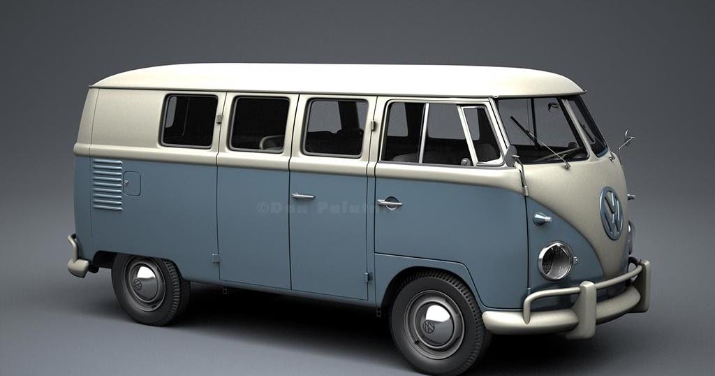 a garagem digital de dan palatnik the digital garage project 1957 vw kombi bus 1956 panel van. Black Bedroom Furniture Sets. Home Design Ideas