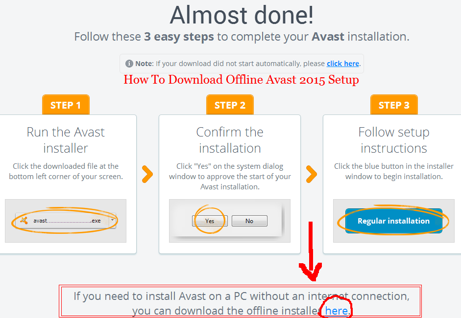 Avast Free Antivirus / Internet Security & Premier 2015 ...