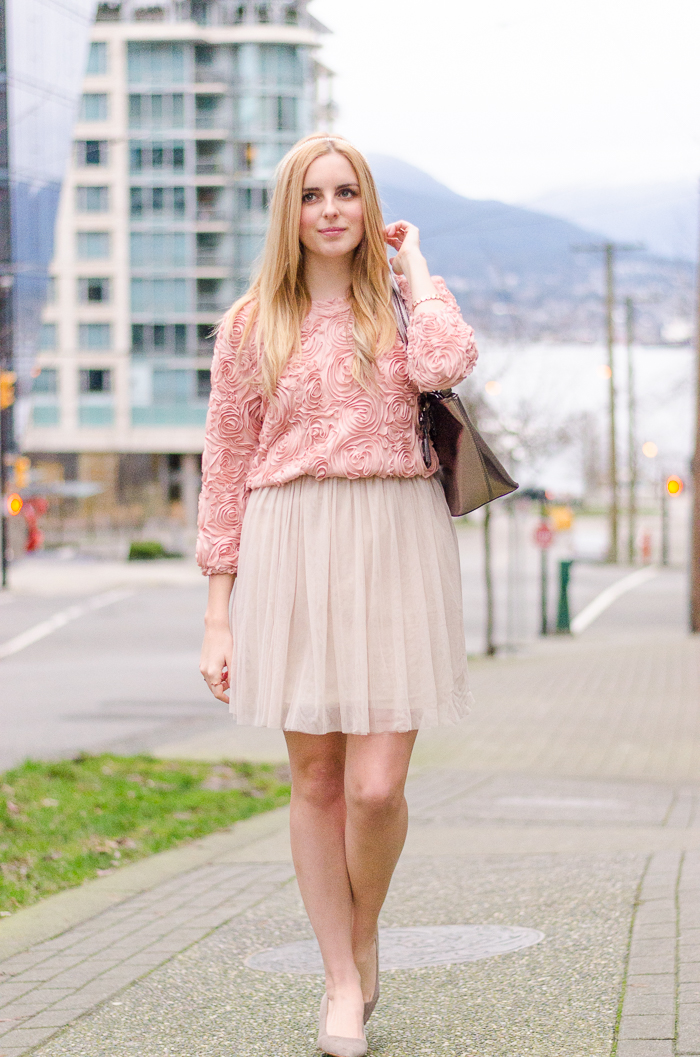 the urban umbrella style blog, vancouver style blog, vancouver fashion blog, vancouver lifestyle blog, vancouver health blog, vancouver fitness blog, vancouver travel blog, canadian fashion blog, canadian style blog, canadian lifestyle blog, canadian health blog, canadian fitness blog, canadian travel blog, bree aylwin, how to style a tulle skirt, american eagle dress, ballerina inspired style, lookbook store 3d rose top, blush pink outfit, daily outfit blog, best fashion blogs, best style blogs, best lifestyle blogs, best fitness blogs, best health blogs, best travel blogs, top fashion blogs, top style blogs, top lifestyle blogs, top fitness blogs, top health blogs, top travel blogs