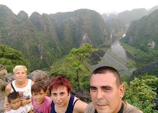 Ninh Binh. Mirador de Mua Cave.