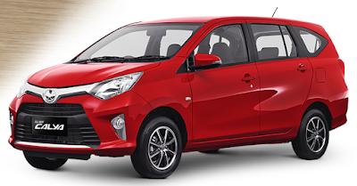 Toyota Calya Mini MPV side look image
