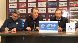 TRAMEZZANI «Ξεχνάμε τον τελικό, σκεφτόμαστε μόνο τον επόμενο αγώνα» | FALCH «Απίστευτη ομάδα ο ΑΠΟΕΛ, συγχαρητήρια για την πρόκριση»