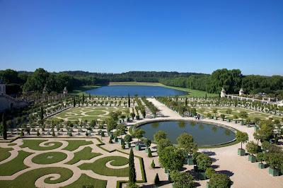 Versailles Sarayı Bahçe