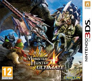 Monster Hunter 4 Ultimate, 3DS, Español, Mega, Mediafire