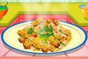 لعبة طبخ دجاج رورو