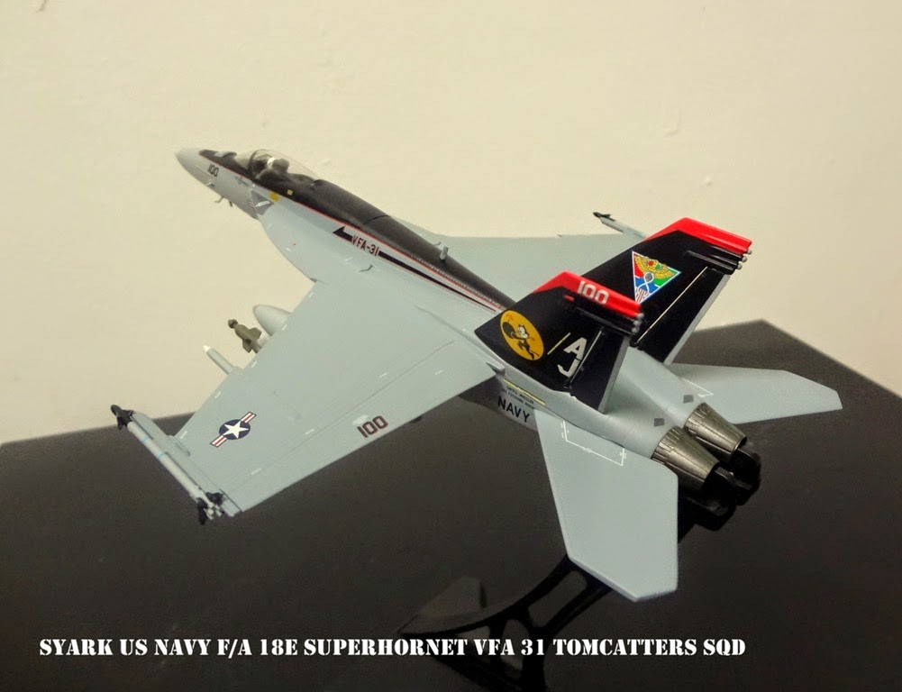 Syark Air Force (SAF) - 1/72 Witty Wings US Navy F/A 18E Superhornet