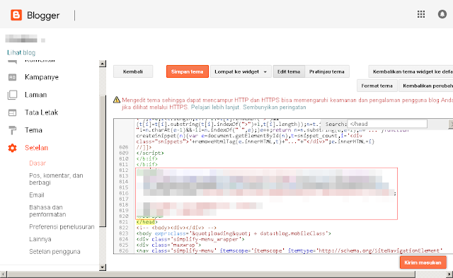 Cara memasang Google Analytics pada website