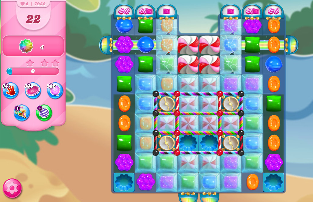 Candy Crush Saga level 7939