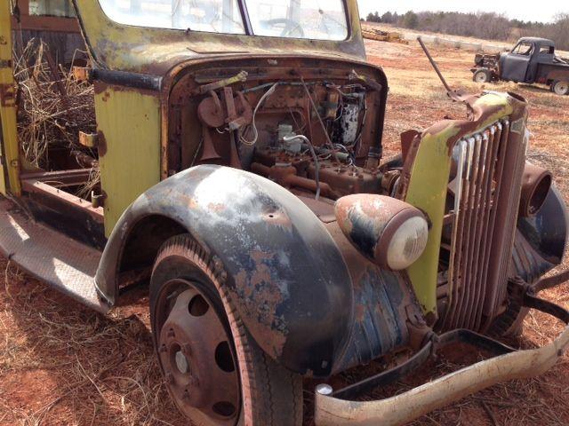 Junked 1930s-era White Yellowstone National Park Motor Coach