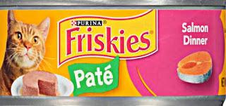 Makanan kucing persia friskies