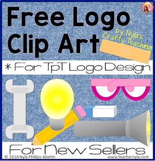 Free Logo Clip Art for TpT