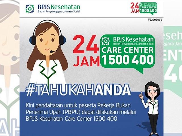 Cara Pendaftaran BPJS Melalui Care Center 1500-400