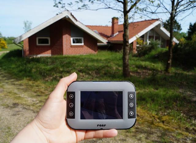 Entspant durch die Nacht: Das neue Video-Babyphone Mix & Match von reer im Test. Entfernung bzw. reichweite ist kein Problem: Die Video-Übertragung funktioniert einwandfrei.