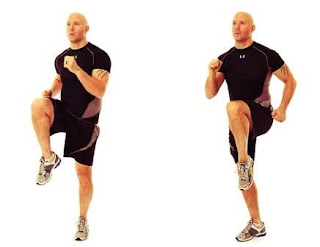 high knees exercise