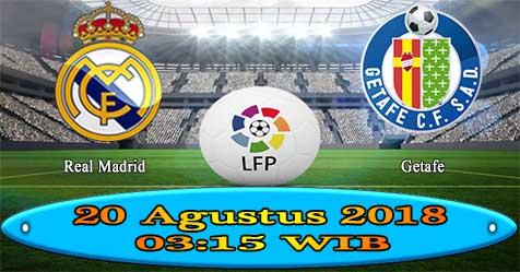 Prediksi Bola855 Real Madrid vs Getafe 20 Agustus 2018