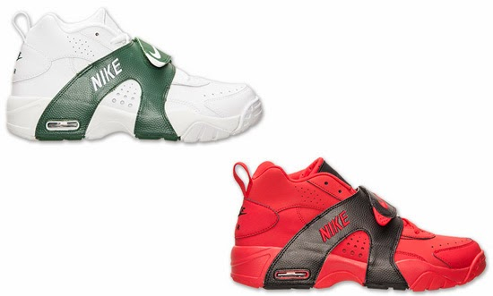 8923d44842be Nike Air Veer Two Colorways  White White-Gorge Green   University  Red University Red-Black Now Available