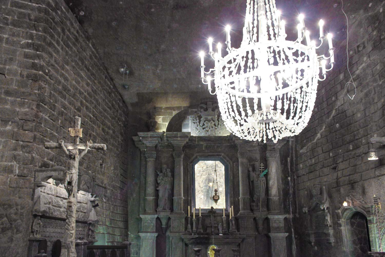 wieliczka chapel st kinga