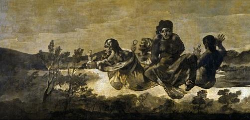 As Parcas, pintura de Goya.
