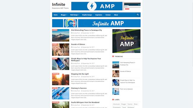 Blogger Templates Infinite AMP