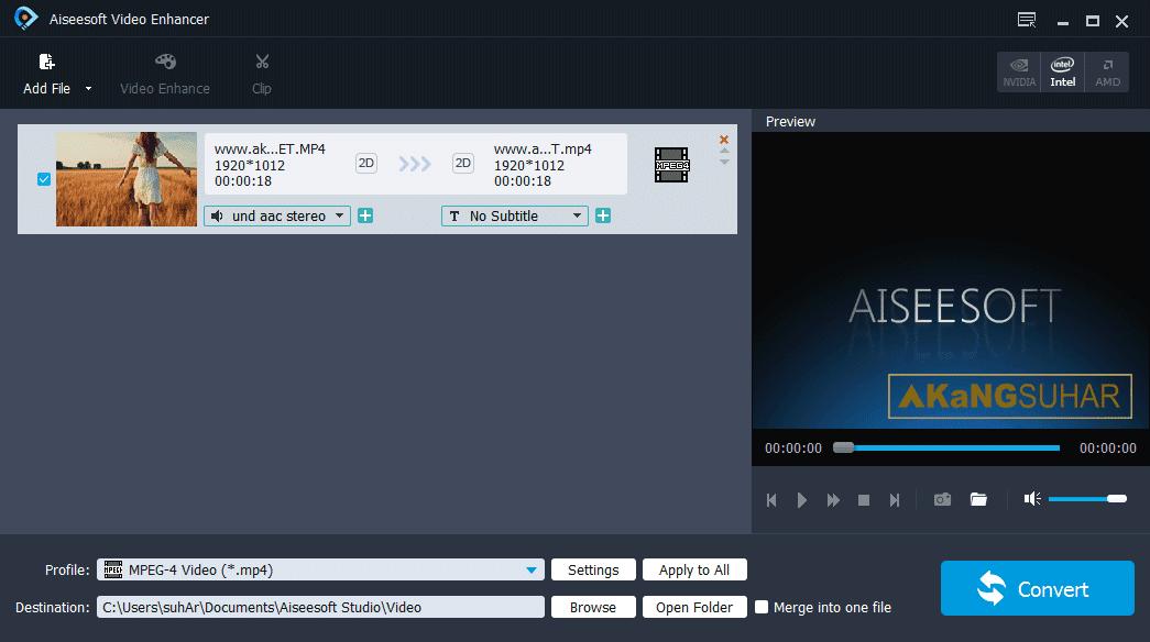 Download Aiseesoft Video Enhancer Full Version
