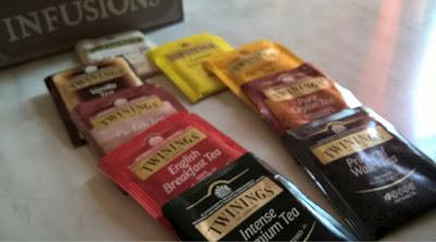 Tutti i tè Twinings e i miei preferiti