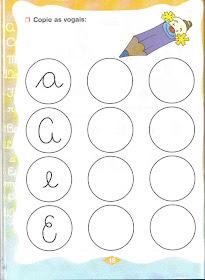 Atividades com vogais para Educação infantil