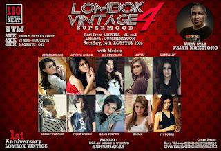 Event Fotografi Agustus 2016 - Lombok Vintage 4 Supermood