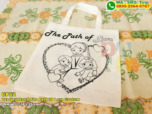 Tas Spunbond The Path Of Love Custom