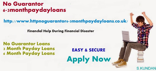 No guarantor loans: Financial Aid Avail when stuck