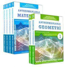 Antrenmanlarla Matematik 1. 2. 3. 4. Kitap + Antrenmanlarla Geometri 1. 2. Kitap Seti (2017)