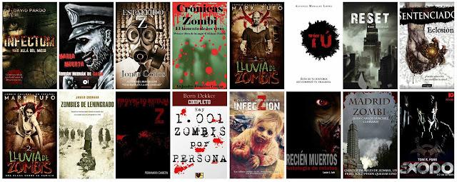 Ebrolis lanza al mercado un pack de libros de temática zombie