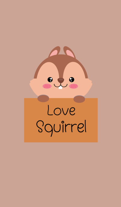 Simple Love squirrel