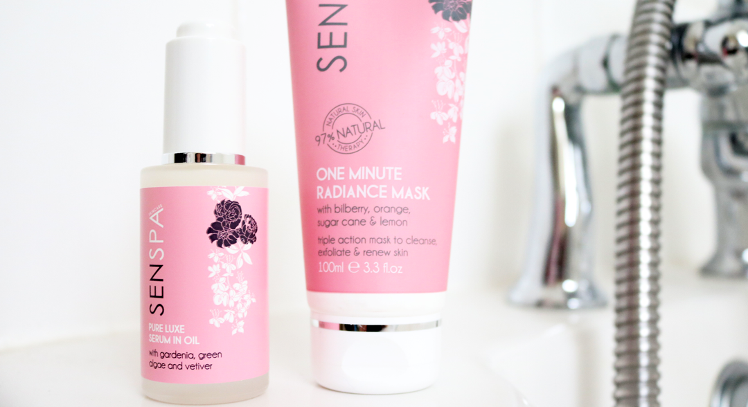 SenSpa One Minute Radiance Mask & Pure Luxe Serum In Oil review