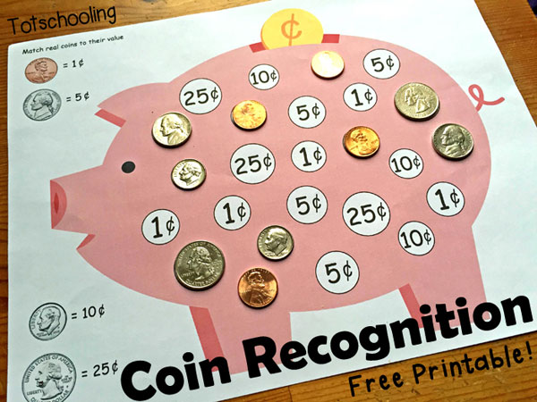 Coin Crafts For Preschoolers