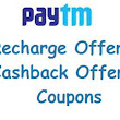 November, 2016 Paytm Offers: Get Flat Rs. 10 Cashback on mobile prepaid recharge of Rs. 100 or more