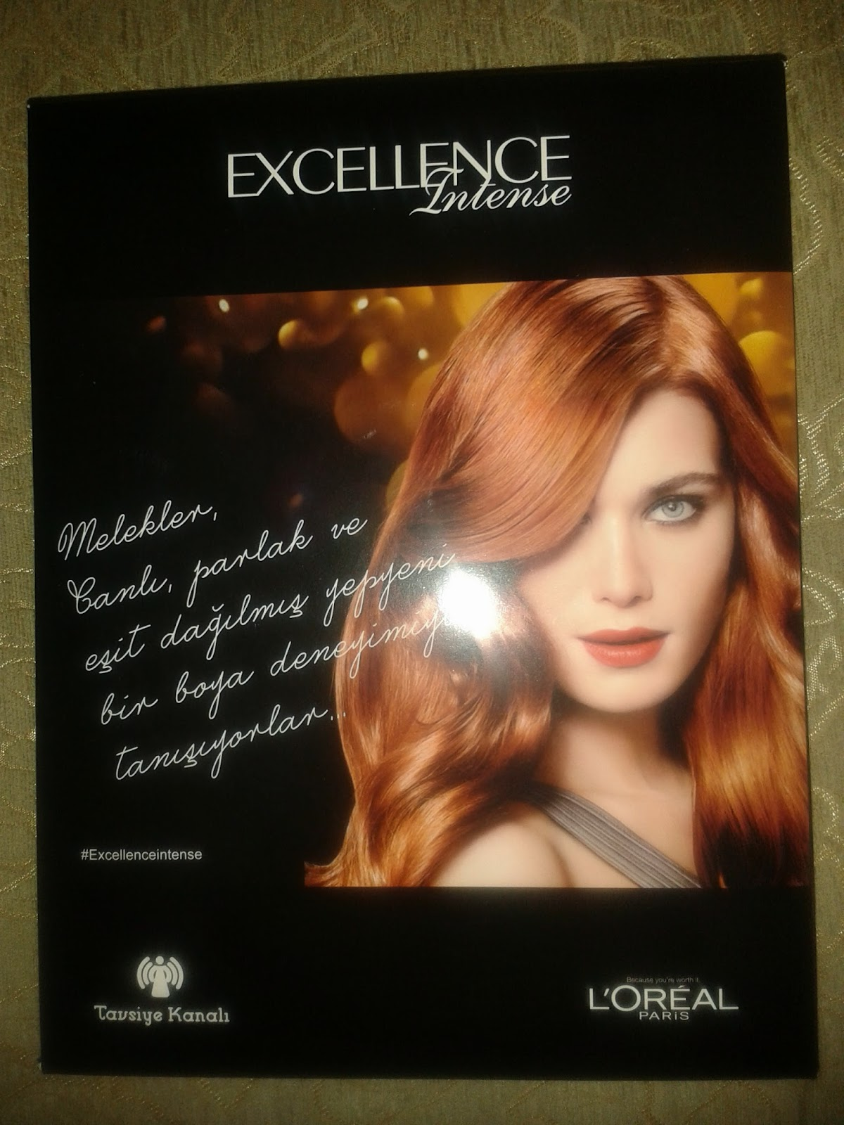 tavsiye kanalı-loreal excellence intense