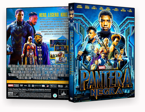 DVD – Pantera Negra Black Panther 2018 – ISO – CINEMA