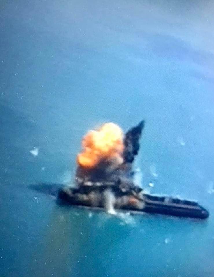 ПКР Нептун з бойовою частиною вразила надводну ціль (ФОТО)