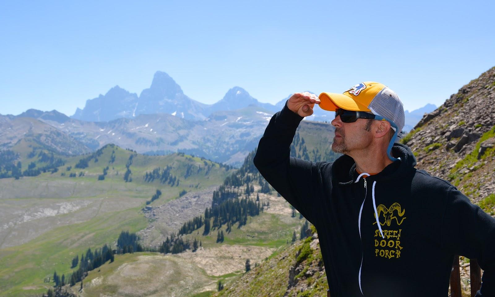A view of the Grand Teton