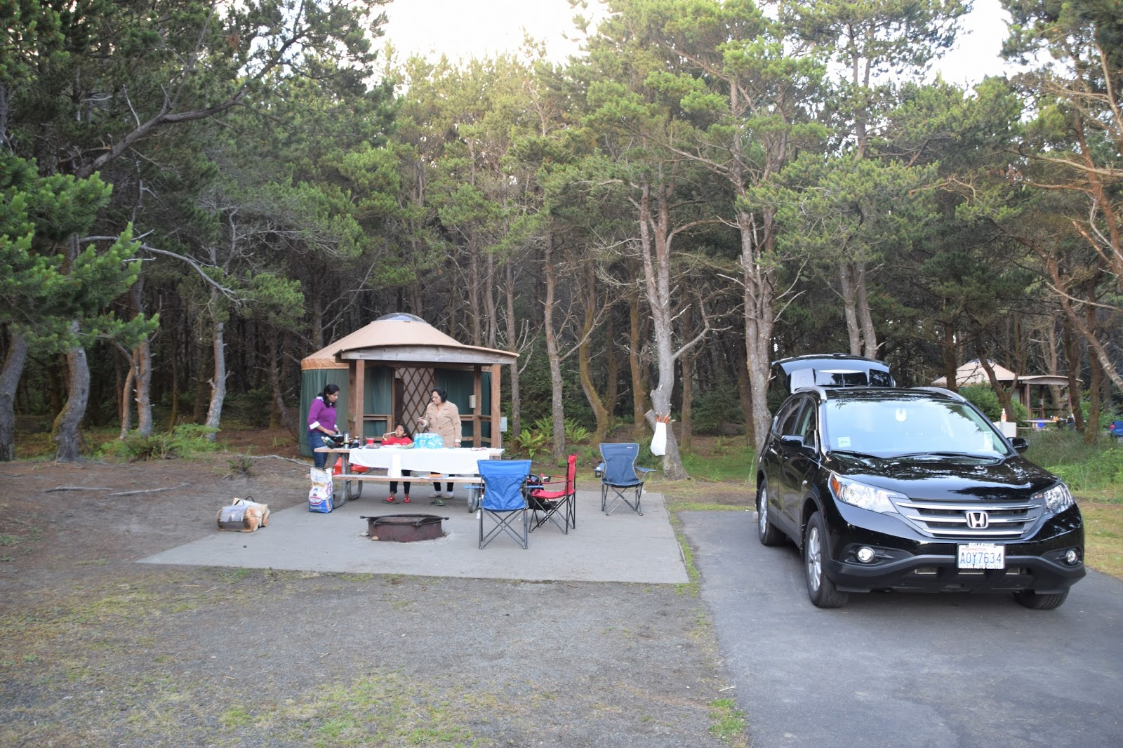 Grayland Beach State Park Camping