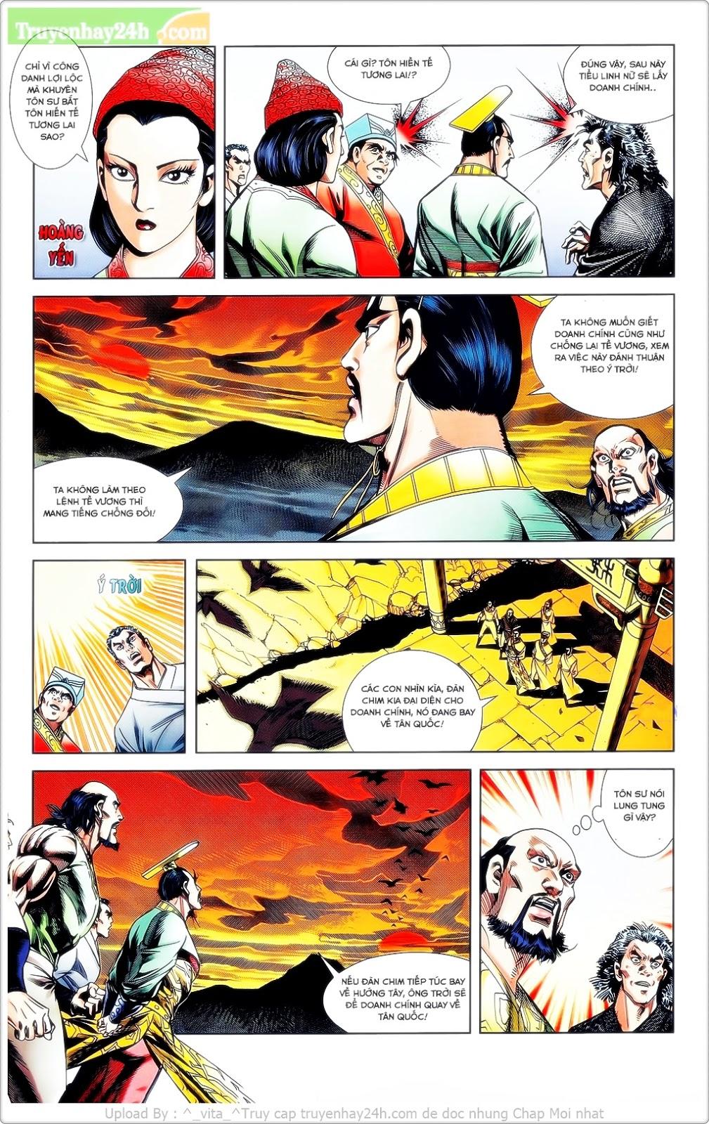 Tần Vương Doanh Chính chapter 23 trang 12