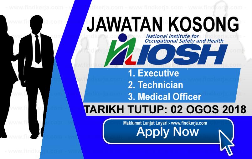 Jawatan Kerja Kosong NIOSH logo www.ohjob.info www.findkerja.com ogos 2018