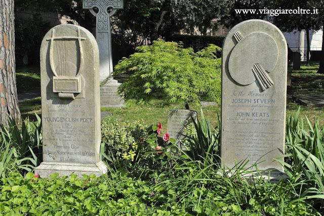 Cimitero Acattolico di Roma Personaggi Famosi