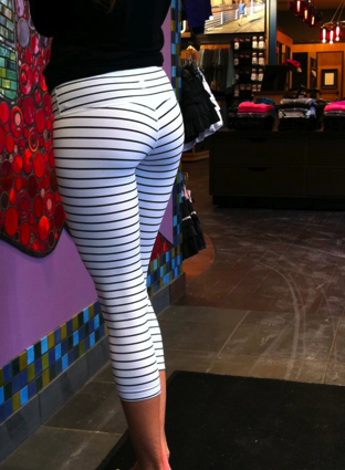 Quiet Stripe Wunder Under Pants