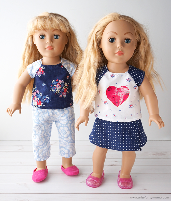 "18"" Doll Clothes Made Easy with the Cricut Maker"