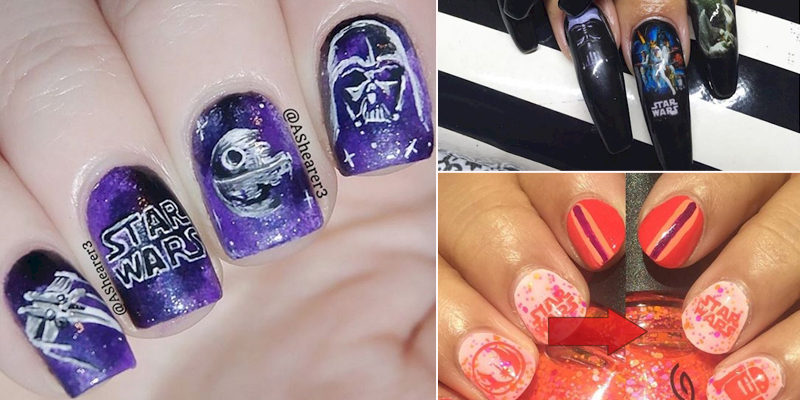 If you are looking for best and ideal nail designs then we have such an  amazing nail designs for you because all these new nail designs are  astonishing, ... - These Are The 10+ 'Star Wars' Nails You're Looking For - |