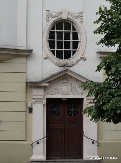 drzwi Warszawa Warsaw architektura Powiśle kamienica Czerwiński okres międzywojenny Domostwo
